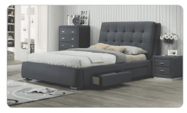 Ovela Bed with Drawers