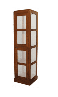 Tasmania Square Glass Display Cabinet