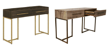 Parquetry Console Table