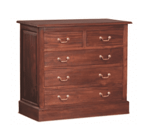 Tasmania 5 Drawer Tallboy