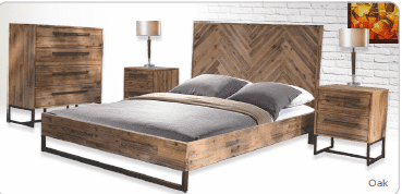 Parquetry Queen Bed Tallboy Suite