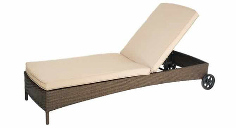 Ceylon Chaise Lounge or Sun Bed
