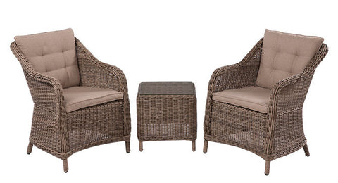 Corinella Casual Outdoor Dining 3 Piece Set