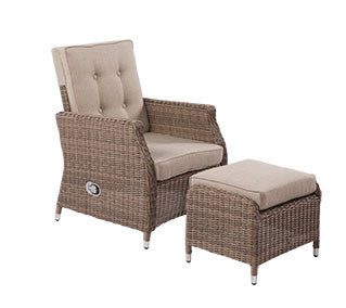 Havana Wicker Recliner