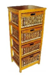 Mexicana 4 Draw Tall Cabinet