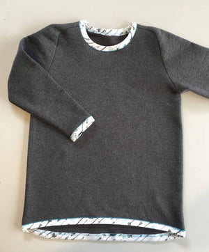 Load image into Gallery viewer, Curved Raglyn Sweatshirt : 2-10 years