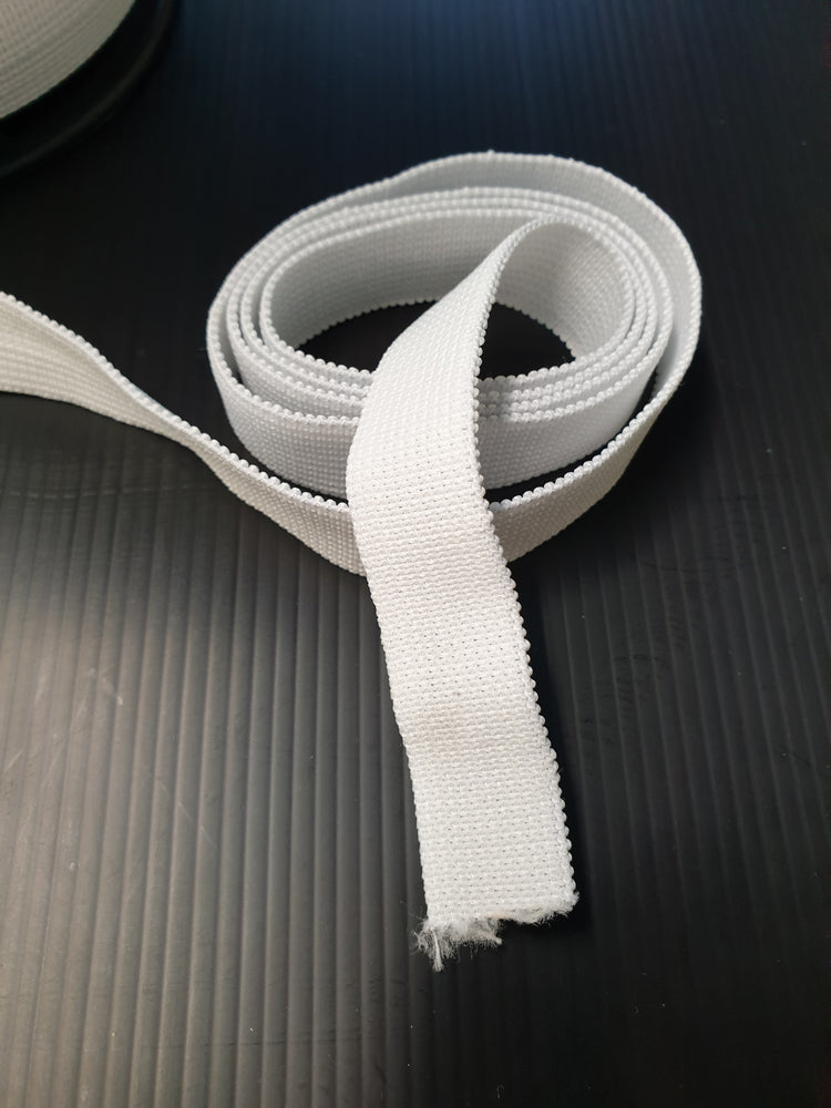 Elastic- 19mm - White