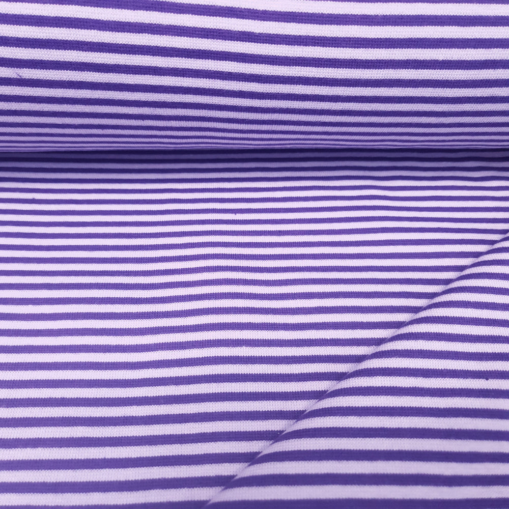 Load image into Gallery viewer, Purple/lilac stripe-Rib