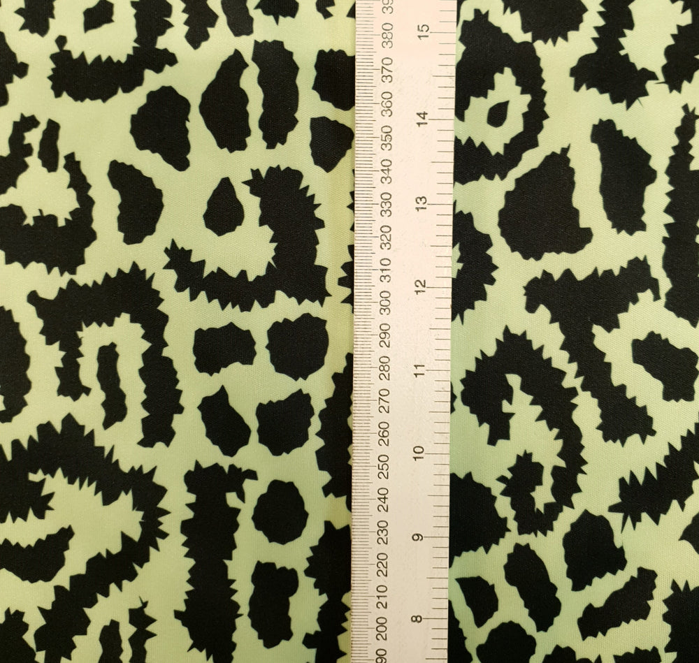 Load image into Gallery viewer, Green Animal print -PUL