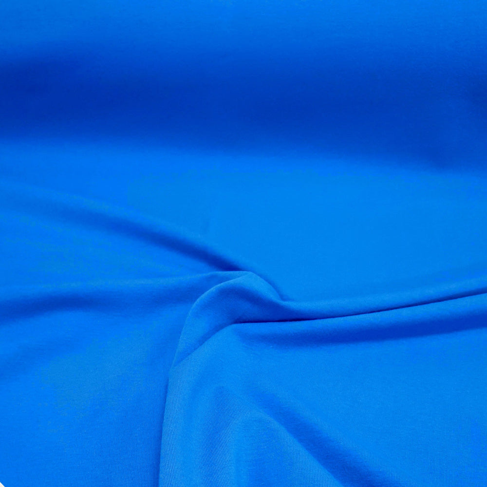 Blue  - Cotton Spandex