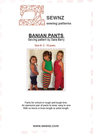 Load image into Gallery viewer, Banian Pants  : 2-10 years