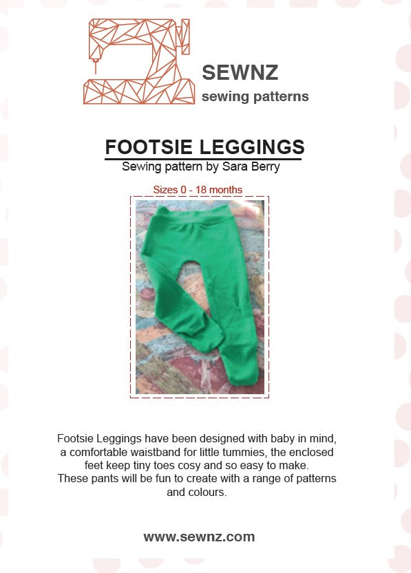 Load image into Gallery viewer, Footsie Leggings : 0-18 Months