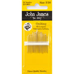 Hand sewing Needles- John James - Size 5/10