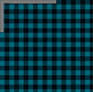 Teal Plaid - Custom Pre-order