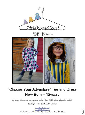 Load image into Gallery viewer, Choose Your adventure-NB -12Yrs - Little Kiwis Closet