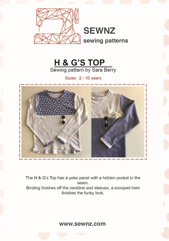H & G Top : 2-10 years