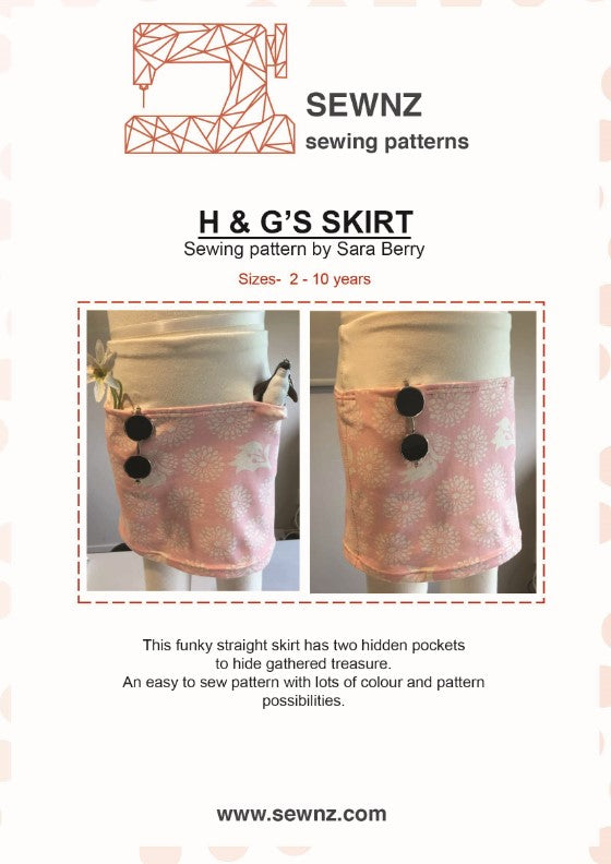 Load image into Gallery viewer, H & G Skirt : 2-10 years