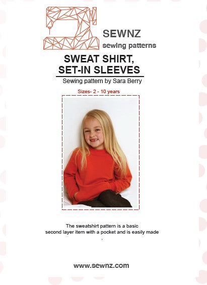 Sweatshirt set in sleeve : 2-10 years