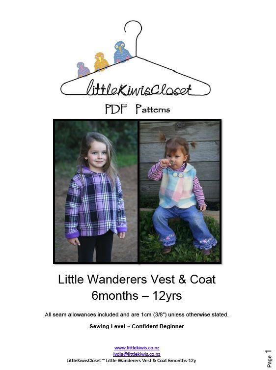 Load image into Gallery viewer, Little Wanderes Vest and Coat-6m -12Yrs - Little Kiwis Closet