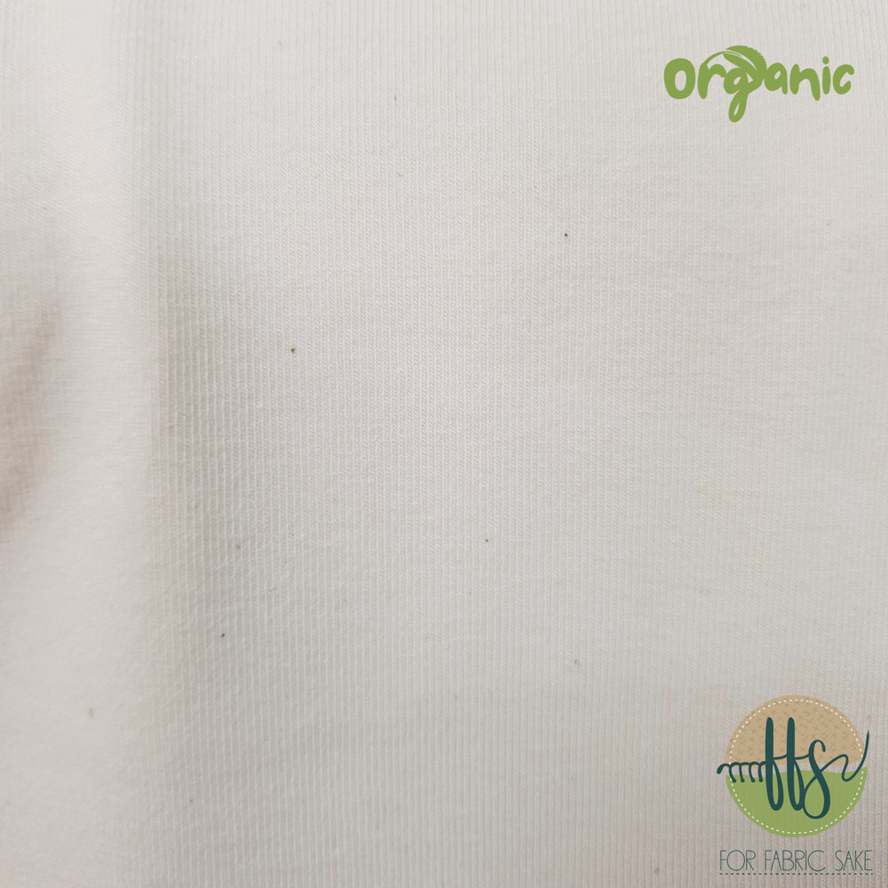Natural/Cream  -Organic Cotton Spandex