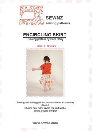 Encircling Skirt  : 2-10 years