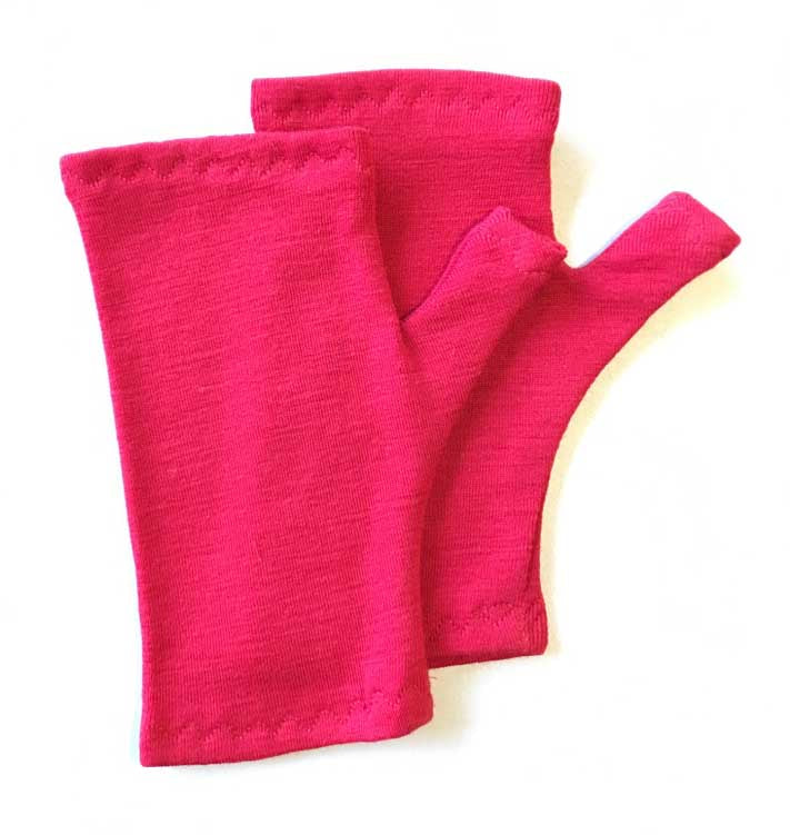Fingerless Gloves: 6 months - 2 years