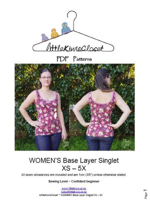 Load image into Gallery viewer, Women's Base layer- XS - 5X - Little Kiwis Closet