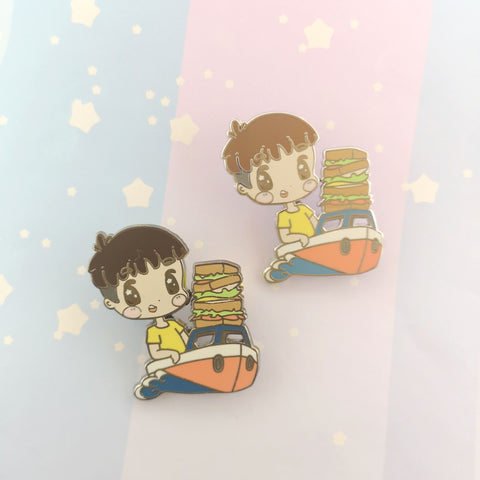 Sosuke - Hard Enamel Pin -- Ghibli Snacks Collection - Kittynaut