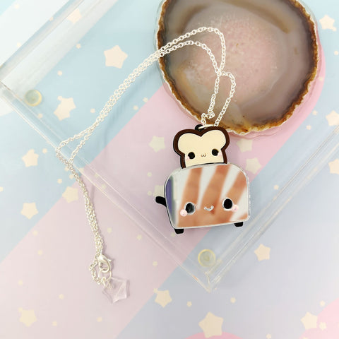 Little Toaster -- Handmade Jewelry - Kittynaut