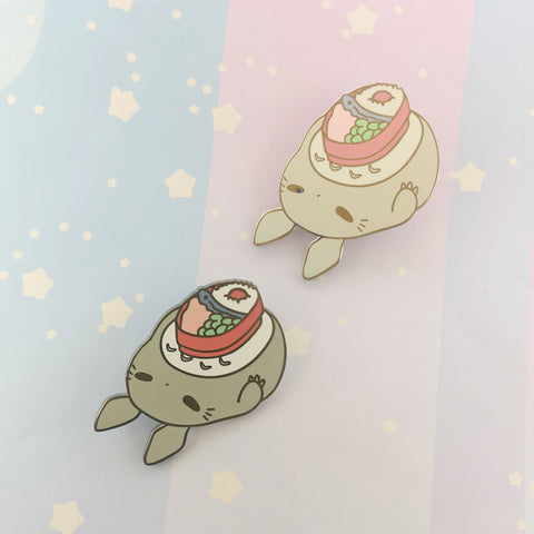 Totoro - Hard Enamel Pin -- Ghibli Snacks Collection - Kittynaut