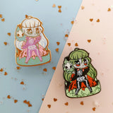 Monster Girls -- Lich Hard Enamel Pin - Kittynaut