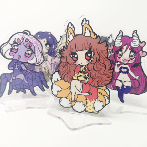 Monster Girls -- Acrylic Standees
