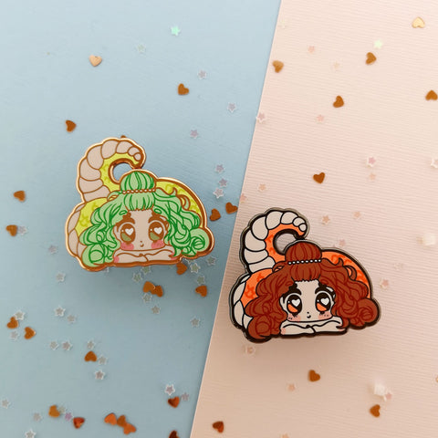 Monster Girls -- Lamia Hard Enamel Pin - Kittynaut