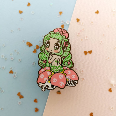 Monster Girls -- Carnivorous Plant Hard Enamel Pin
