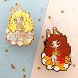 Monster Girls -- Kitsune Hard Enamel Pin - Kittynaut