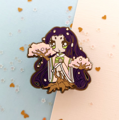 Monster Girls -- Dryad Hard Enamel Pin - Kittynaut