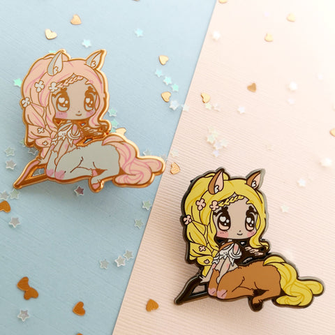 Monster Girls -- Centuar Hard Enamel Pin - Kittynaut