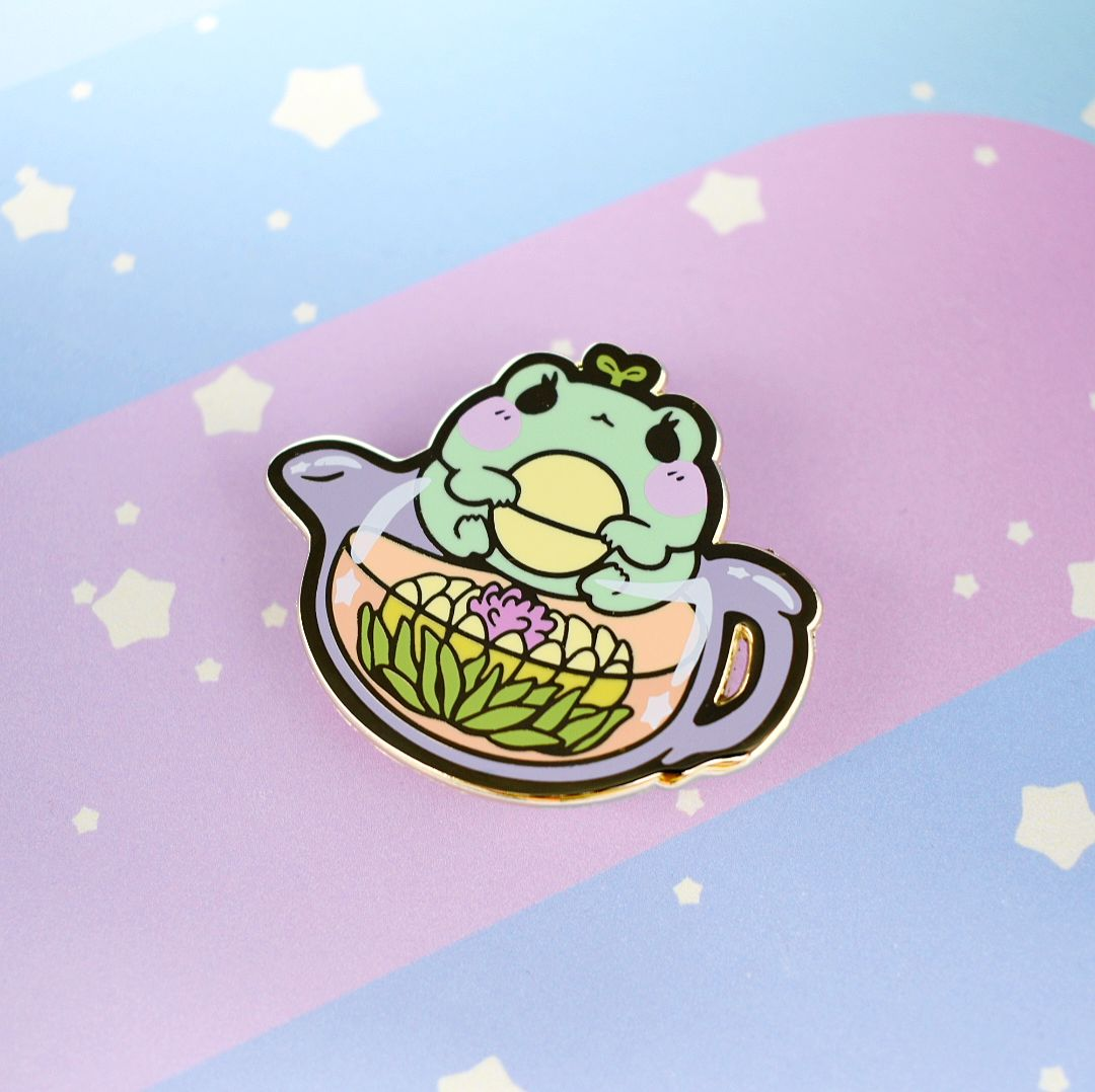 Secret Shop - May 2020 - Blooming Tea Frog - Kittynaut
