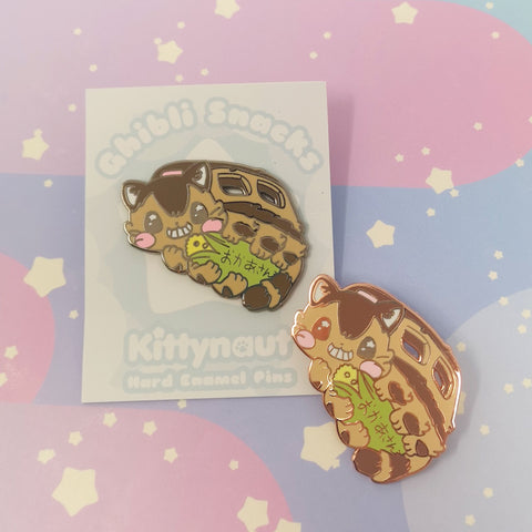 Corn for Okasan - Hard Enamel Pin -- GSnacks Collection - Kittynaut