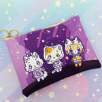 Leo + Friends - Printed Cosmetic Bag
