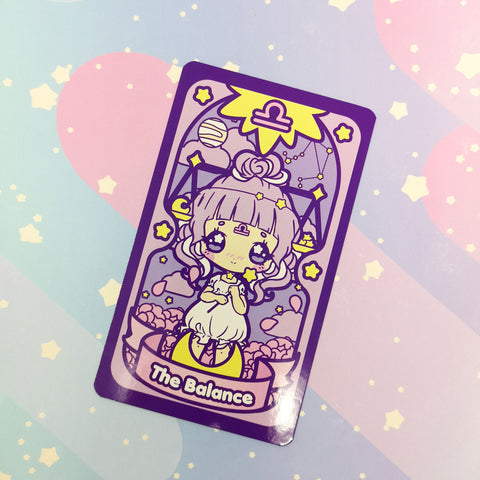Secret Shop - Tarot Card - Libra Magical Girl