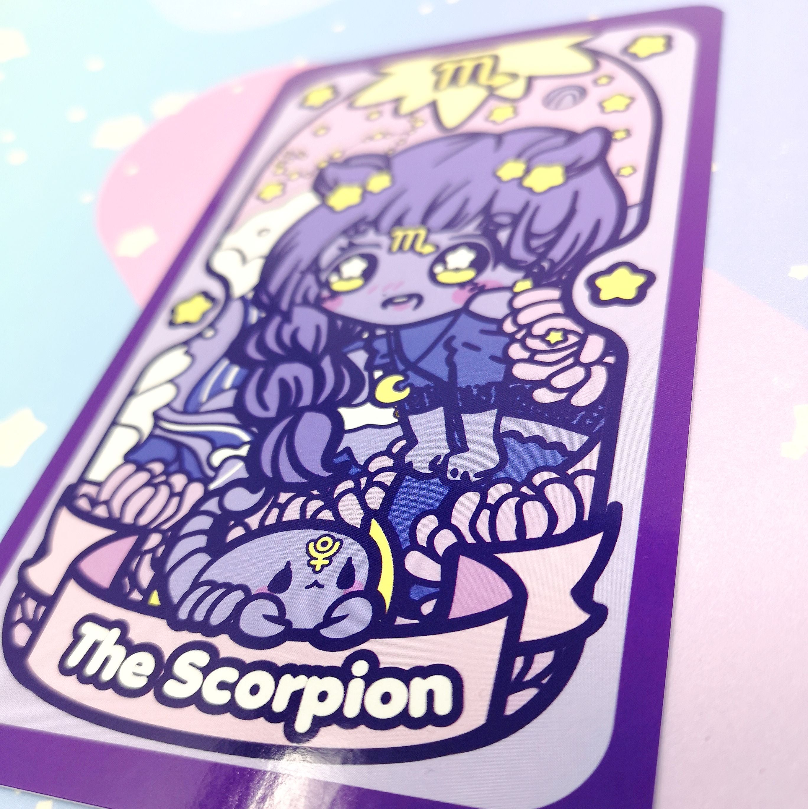 Secret Shop - Tarot Card - Scorpio Magical Girl