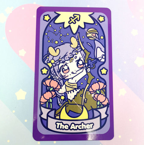 Secret Shop - Tarot Card - Sagittarius Magical Girl