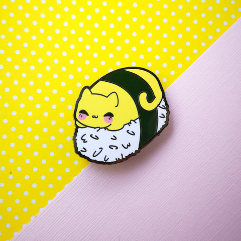 Tamago Sushi Cat - Egg Kitties  - Hard Enamel Pins Series - Kittynaut
