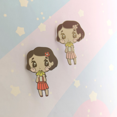 Taeko - Hard Enamel Pin -- Ghibli Snacks Collection