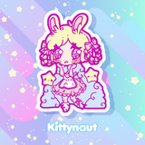 Secret Sticker Shop - Thru March 2020 - Kittynaut