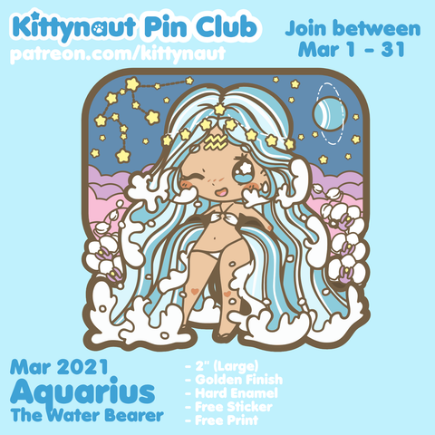 Secret Shop - Mar 2021 - Aquarius