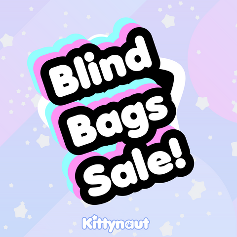 Blind Bags - 17k Sale - Kittynaut