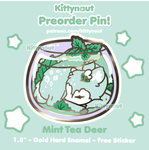 PREORDER - Mint Tea Deer - Teanimals - Kittynaut