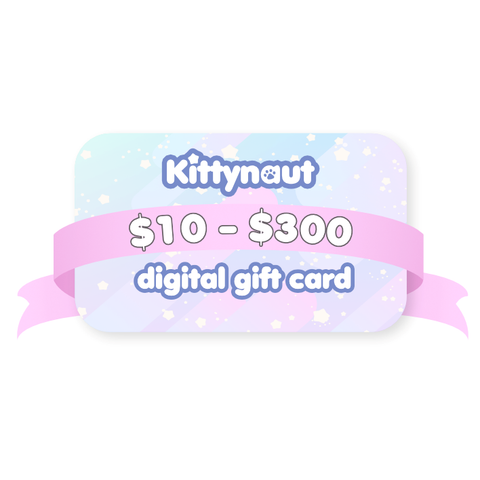 Kittynaut Digital Giftcard - Kittynaut